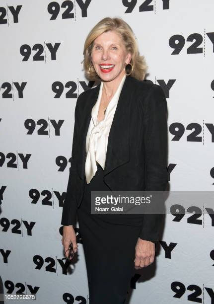 Christine Baranski attends Terrence McNally's 80th Birthday at 92nd Street Y on October 21 2018 in New York City