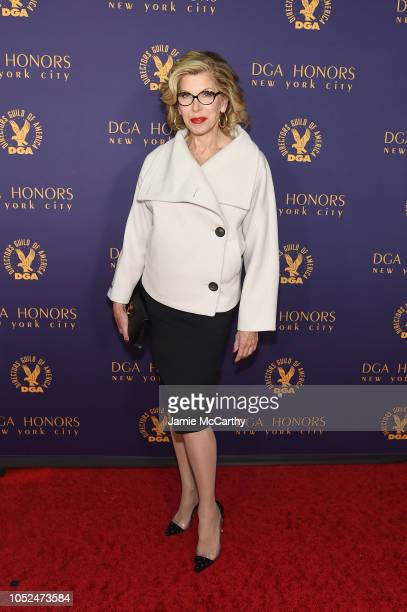 Christine Baranski attends the 2018 DGA Honors at DGA Theater on October 18 2018 in New York City