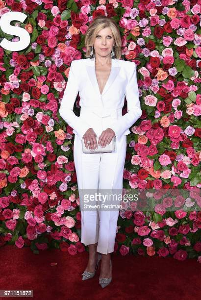 Christine Baranski attends the 72nd Annual Tony Awards at Radio City Music Hall on June 10 2018 in New York City