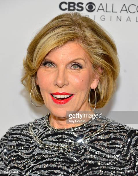 Christine Baranski attends 'The Good Fight' World Premiere at Jazz at Lincoln Center on February 8 2017 in New York City