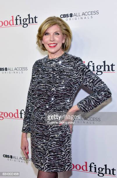 Christine Baranski attends The Good Fight world premiere at Jazz at Lincoln Center on February 8 2017 in New York City
