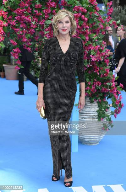 Christine Baranski attends the Mamma Mia Here We Go Again world premiere at the Eventim Apollo Hammersmith on July 16 2018 in London England