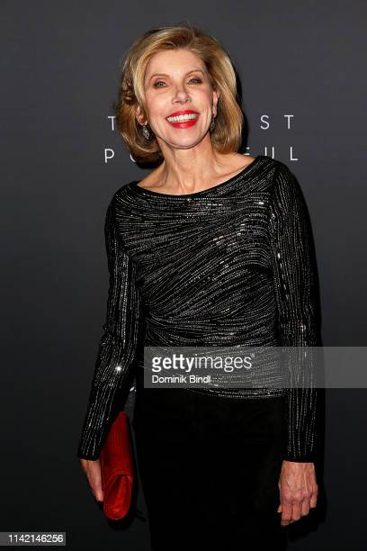 Christine Baranski attends the The Hollywood Reporter's 9th Annual Most Powerful People In Media at The Pool on April 11 2019 in New York City