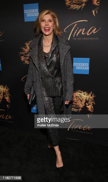 Christine Baranski attends the Tina The Tina Turner Musical at the LuntFontanne Theatre on November 7 2019 in New York City