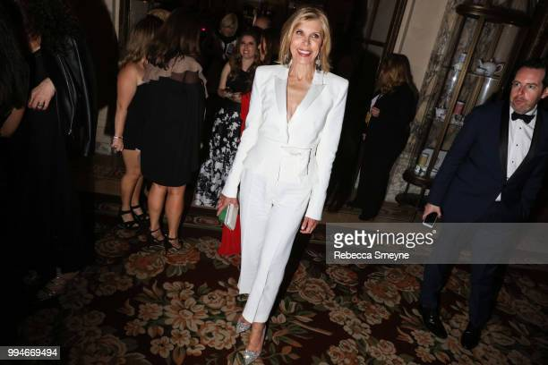 Christine Baranski attends the Tony Awards Gala at the Plaza on June 10 2018 in New York New York