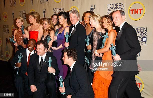 Christine Baranski Catherine ZetaJones Richard Gere Queen Latifah Renee Zellweger Mya Colm Feore Taye Diggs John C Reilly Dominic West and the cast...