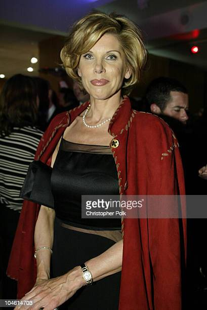 Christine Baranski during Chicago Premiere Party at Academy of Motion Picture Arts and Sciences in Beverly Hills CA United States