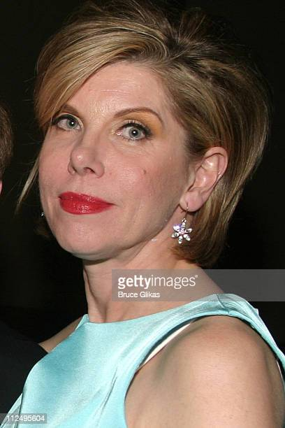 Christine Baranski during Roundabout Theatre Company's 2005 Spring Gala Celebration at Pier 60 at Chelsea Piers in New York NY United States