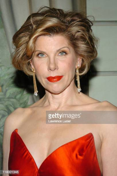 Christine Baranski during The Eighth Annual Red Ball at The Pierre Hotel in New York City New York United States