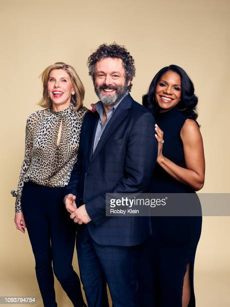 Christine Baranski Michael Sheen and Audra McDonald of CBS's 'The Good Fight' pose for a portrait during the 2019 Winter TCA Getty Images Portrait...