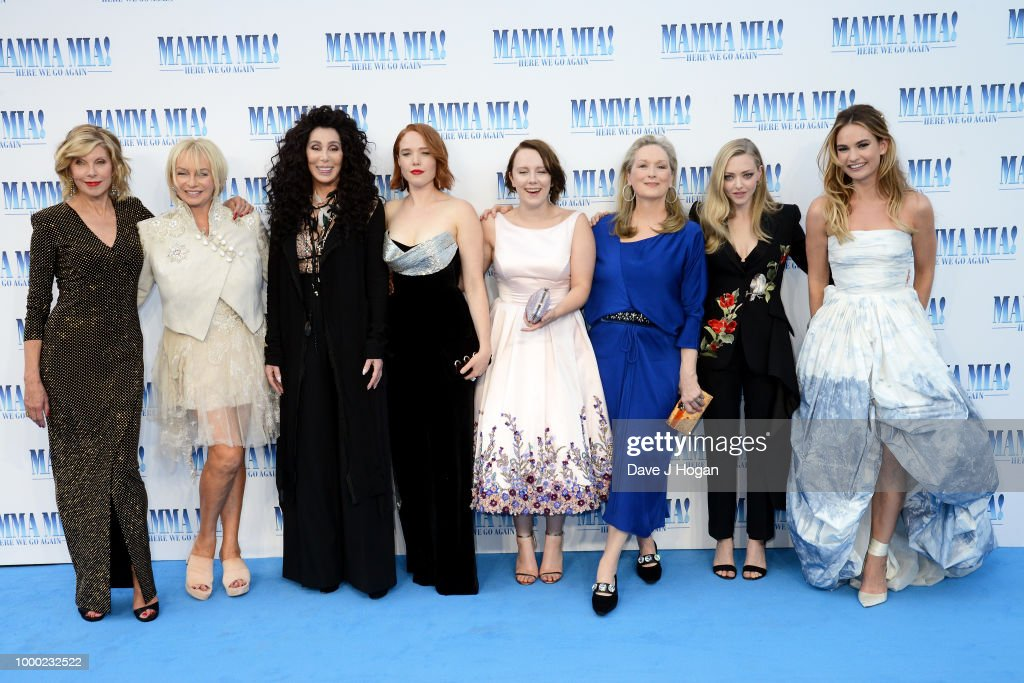 """Mamma Mia! Here We Go Again"" - UK Premiere - VIP Arrivals : News Photo"