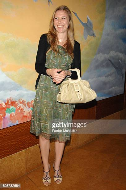 Christine Barberi attends MANDARIN ORIENTAL HOTEL GROUP Party for the SOTHEBY'S Contemporary Asian Art Exhibition at The Mandarin Oriental on...