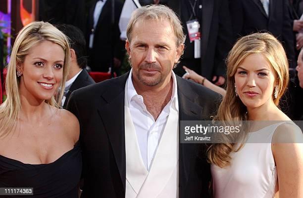 Christine Baumgartner, Kevin Costner and daughter, Lily Costner