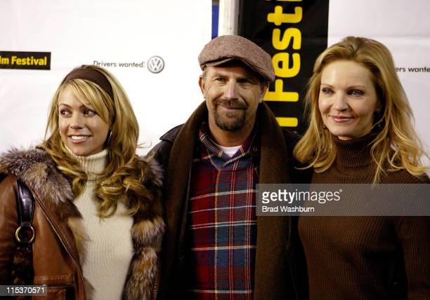 Christine Baumgartner, Kevin Costner and Joan Allen