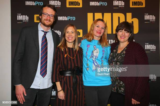 Christine Beebe Amy Scott and Heather McIntosh of 'Hal' attend The IMDb Studio and The IMDb Show on Location at The Sundance Film Festival on January...