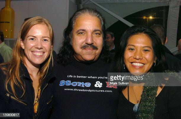 Christine Beebe coproducer Ron Jeremy and Christine Pechera coproducer