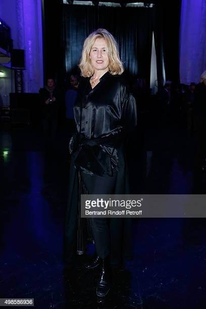 Christine Bergstrom attends the 'ICCARRE' Auction Cocktail To Benefit AIDS Research At Maison Jean Paul Gaultier on November 23 2015 in Paris France