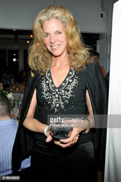 Christine Bernstein attends MIRACLE HOUSE 20th Anniversary Memorial Day Summer Kickoff Benefit honoring Amy Chanos and Jim Chanos at Bridgehampton...