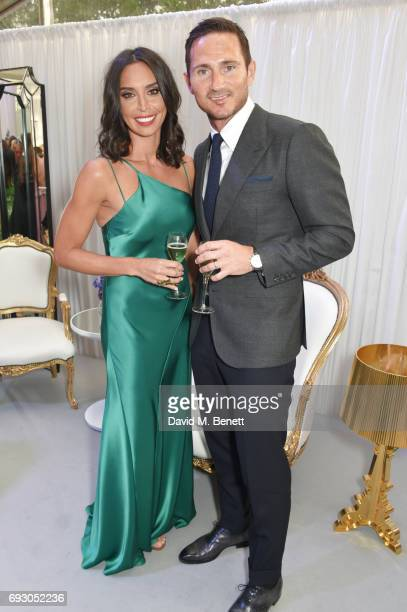 Christine Bleakley and Frank Lampard attend the Glamour Women of The Year Awards 2017 in Berkeley Square Gardens on June 6 2017 in London England
