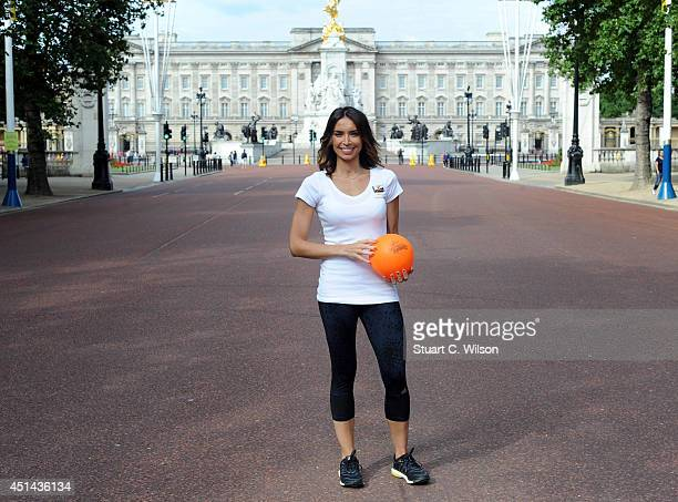 Christine Bleakley announces children and top athletes including David Weir will race on The Mall as part of the Sainsbury's Anniversary Games on...