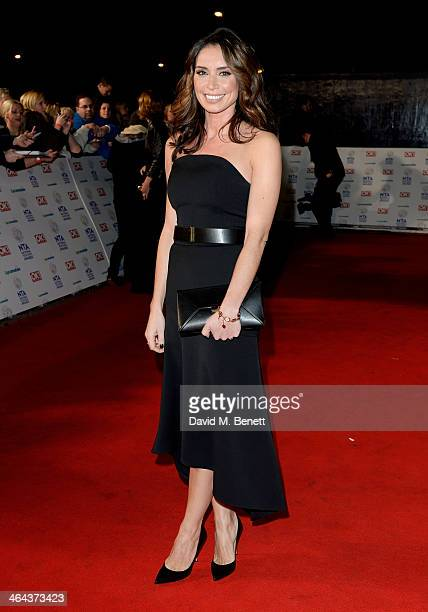 Christine Bleakley attends the National Television Awards at the 02 Arena on January 22 2014 in London England
