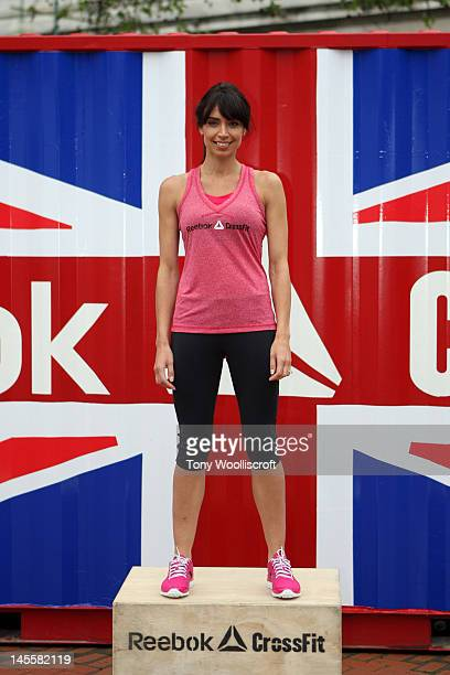 Christine Bleakley attends the Reebok CrossFit Fitness Championship Photocall at The ICC on June 2 2012 in Birmingham England