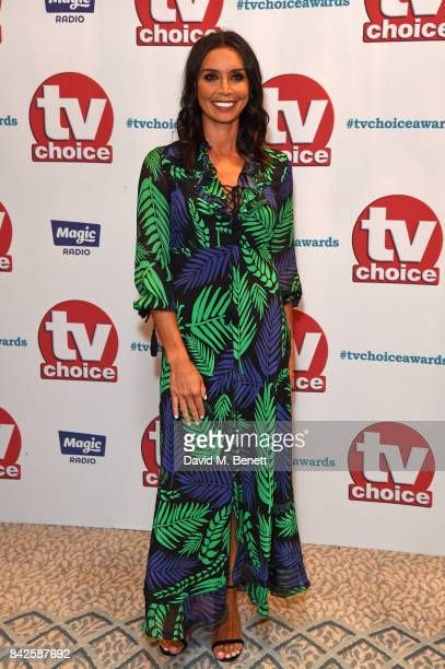 Christine Bleakley attends the TV Choice Awards at The Dorchester on September 4 2017 in London England