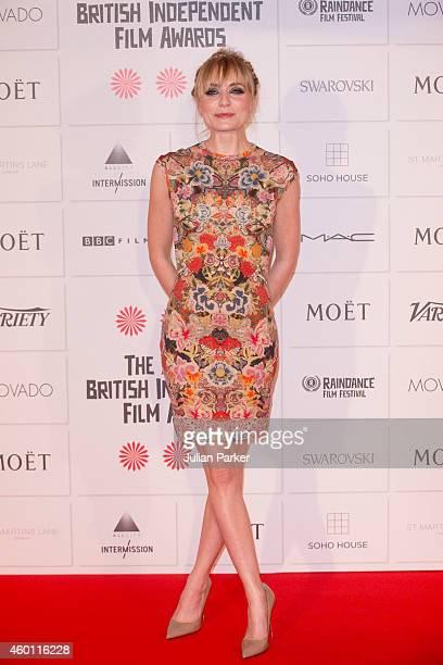 Christine Bottomley attends the Moet British Independent Film Awards at Old Billingsgate Market on December 7, 2014 in London, England.