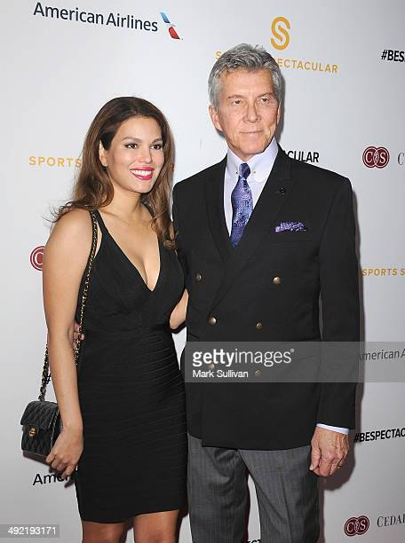 Christine Buffer and boxing announcer Michael Buffer arrive for the 29th Anniversary Sports Spectacular Gala at the Hyatt Regency Century Plaza on...