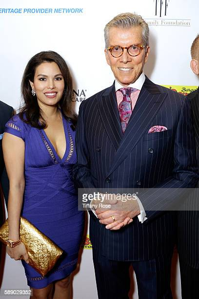 Christine Buffer and professional boxing announcer Michael Buffer attend the 16th Annual Harold Carole Pump Foundation Gala at The Beverly Hilton...