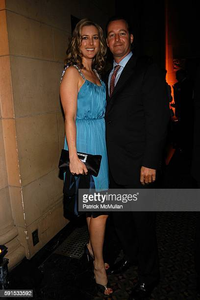 Christine Cachot Williams and Craig Miller attend Caron Foundation's 10th Annual New York City Gala at Ciprani on June 8 2005 in New York City