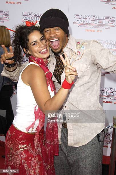 """Christine Carlo and Kiko Ellsworth during """"Charlie's Angels 2 - Full Throttle"""" Premiere at Mann's Chinese Theater in Hollywood, California, United..."""