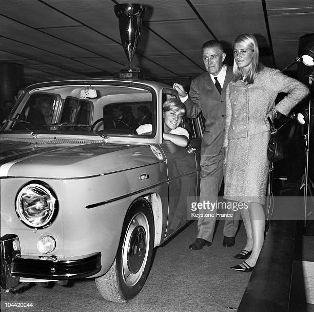 Christine Caron Amedee Gordini And Isabelle Poniatowski In 1965