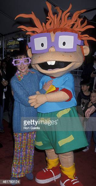 Christine Cavanaugh attends the world premiere of 'The Rugrats Movie' on November 8 1998 at Mann Chinese Theater in Hollywood California