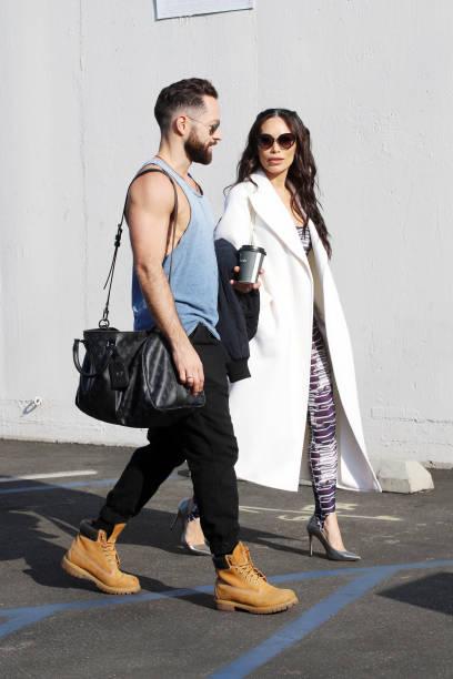 CA: Celebrity Sightings In Los Angeles - September 24, 2021
