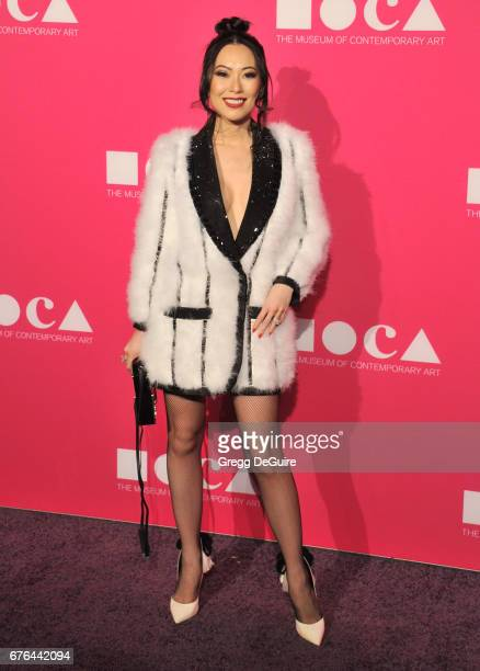 Christine Chiu arrives at the MOCA Gala 2017 at The Geffen Contemporary at MOCA on April 29 2017 in Los Angeles California