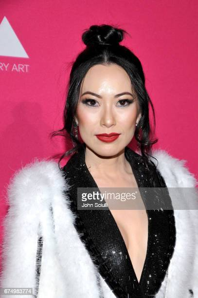 Christine Chiu at the MOCA Gala 2017 honoring Jeff Koons at The Geffen Contemporary at MOCA on April 29 2017 in Los Angeles California