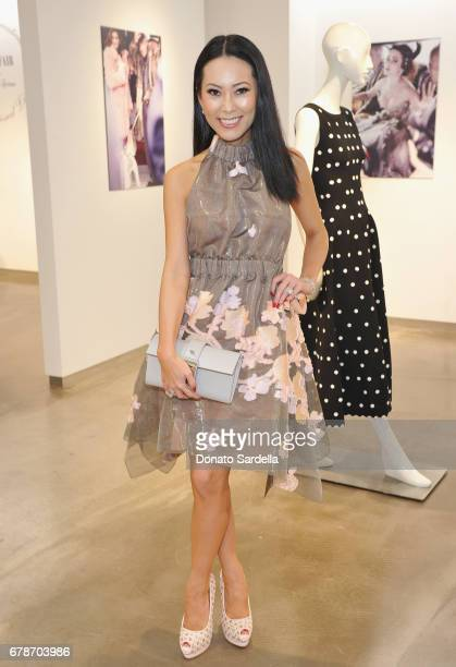 Christine Chiu attends Saks Fifth Avenue Beverly Hills celebration of Vanity Fair's International BestDressed List at Saks Fifth Avenue Beverly Hills...