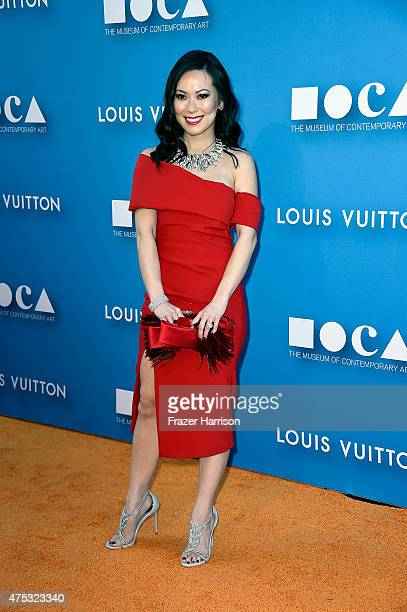 Christine Chiu attends the 2015 MOCA Gala presented by Louis Vuitton at The Geffen Contemporary at MOCA on May 30 2015 in Los Angeles California