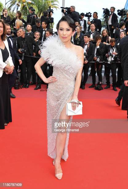Christine Chiu attends the screening of Once Upon A Time In Hollywood during the 72nd annual Cannes Film Festival on May 21 2019 in Cannes France
