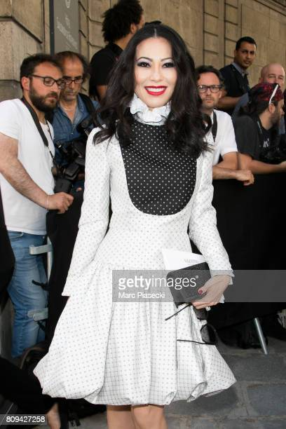Christine Chiu attends the Valentino Haute Couture Fall/Winter 20172018 show as part of Paris Fashion Week on July 5 2017 in Paris France
