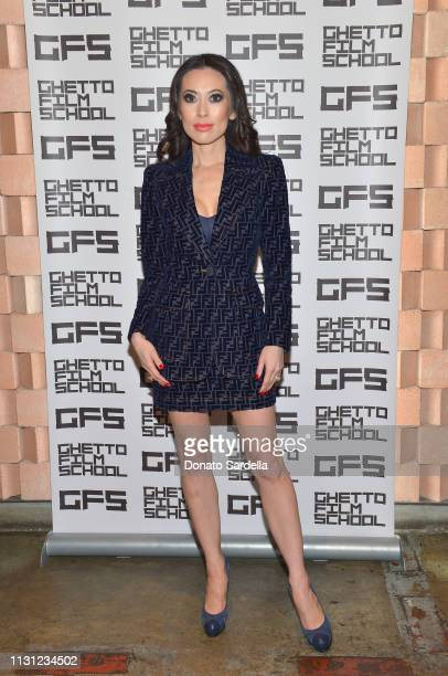 Christine Chiu celebrates Spike Lee and Ghetto Film School at Tesse Restaurant on February 21 2019 in West Hollywood California