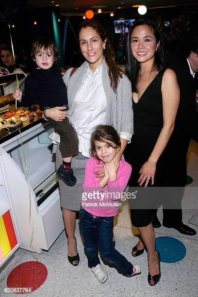 Christine Cuomo Mario Cuomo Bella Cuomo and Angela Edgeworth attend PEDIPED Launches New RUBBERSOLE COLLECTION for Toddlers at Dylan's Candy Bar on...