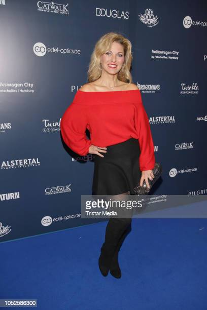 Christine Deck attends the Late Night Shopping party on October 19 2018 in Hamburg Germany