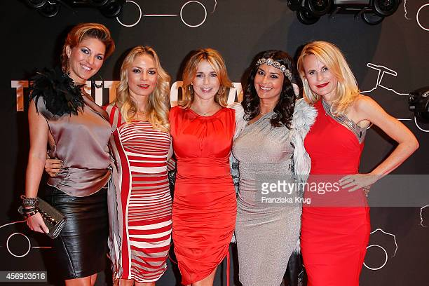 Christine Deck Regina Halmich Tina Ruland Gitta Saxx and Sonja Kiefer attend the Tribute To Bambi 2014 on September 25 2014 in Berlin Germany