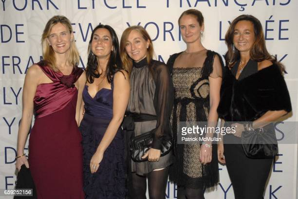 Christine Dutreil Charlotte Sarkozy Benedicte Fournier Barbara Fourneau and Katia Toledano attend LYCEE FRANCAIS DE NEW YORK Celebrates its 10th Gala...