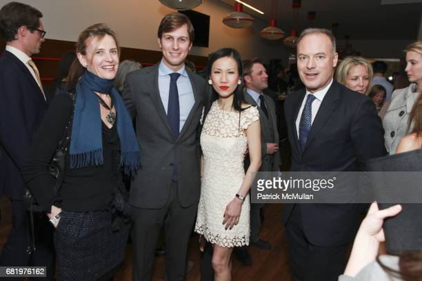 Christine Dutreil Jared Kushner ChiuTi Jansen Renaud Dutreil attend the Launch Party for the New York Observer's NYO magazine at 60 Riverside Blvd on...