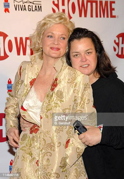 Christine Ebersol and Rosie O'Donnell during Liza With A 'Z' DVD Release Party in New York City at Ziegfeld Theatre in New York New York United States