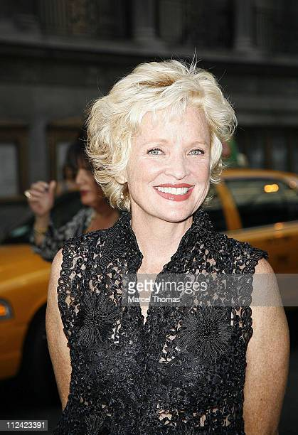 Christine Ebersol during Martin Short Fame Becomes Me Broadway Opening Night Arrivals at Bernard B Jacobs Theatre in New York New York United States