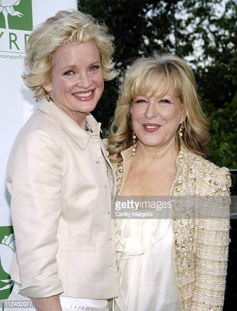 Christine Ebersole and Bette Midler during Bette Midler's New York Restoration Project's 5th Annual Spring Picnic at Highbridge Park in New York City...